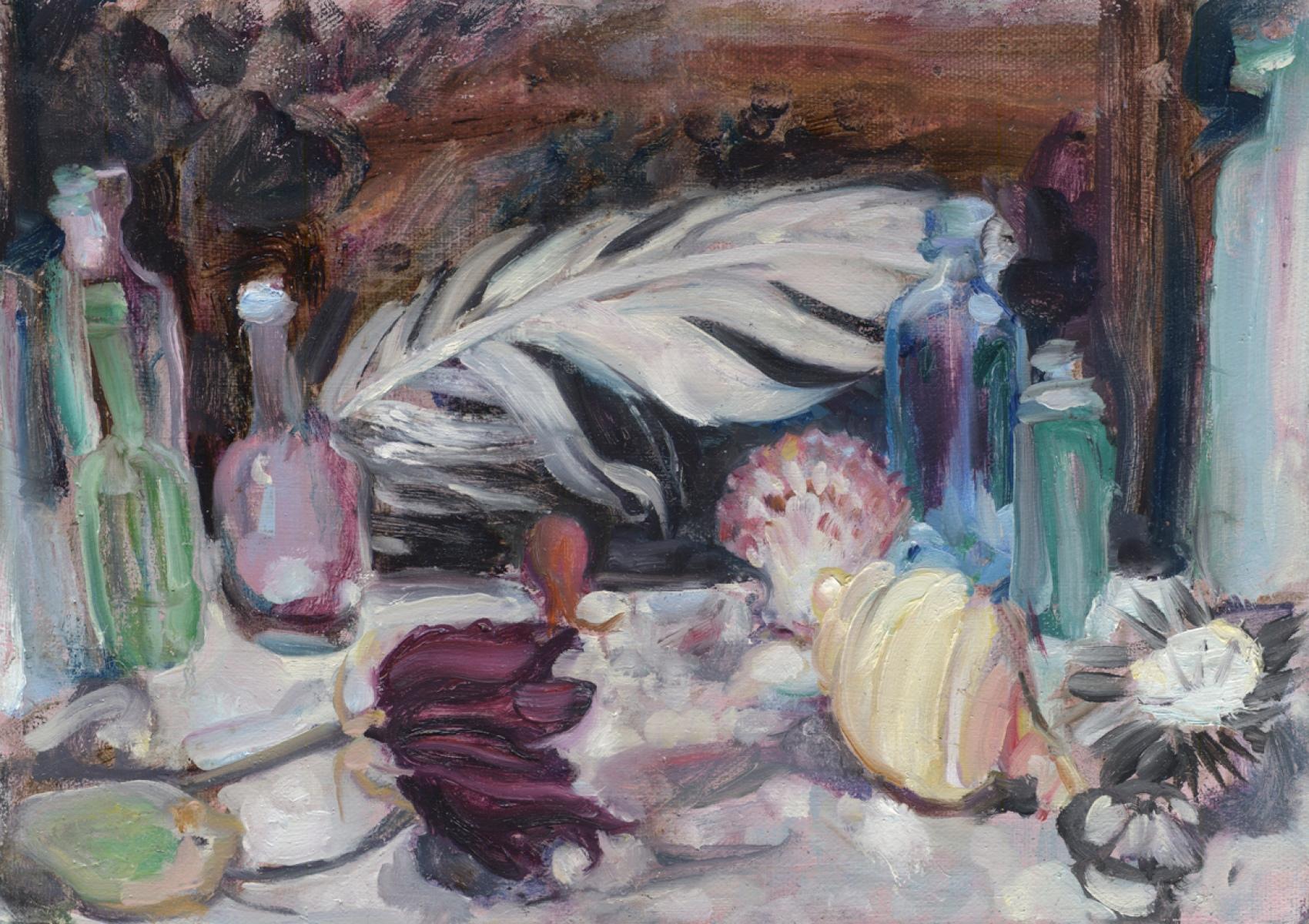 Katherine Tulloh, K798, Untitled, 2018, oil on canvas, 255 x 355mm