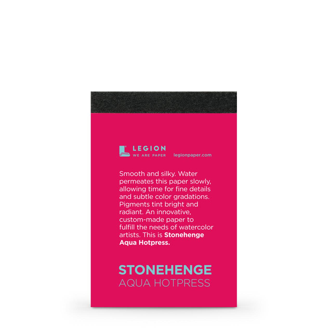 Stonehenge Aqua Hotpress Sample