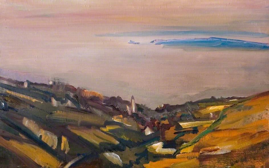 Evening, Cornwall, David Bomberg (1890–1957), Herbert Art Gallery & Museum, © the estate of David Bomberg. All rights reserved, DACS 2017. Photo credit: Herbert Art Gallery & Museum, art exhibitions on now