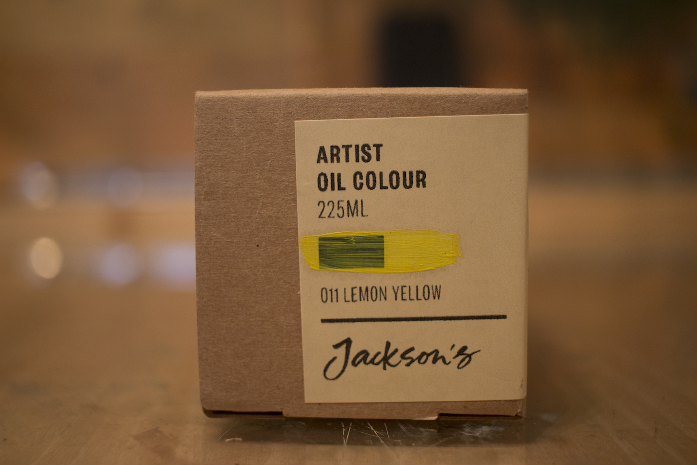 Jackson's Artist Oil Lemon Yellow box