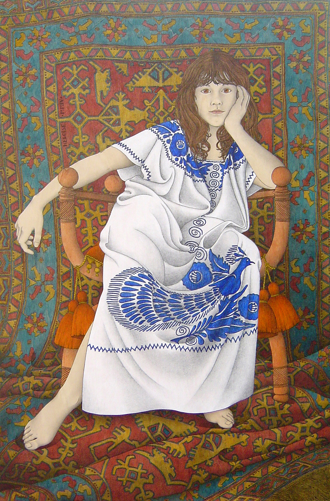 Heloise Sharron Astbury-Pettit acrylic and graphite on poplar panel, 120 x 80 cm, 2004