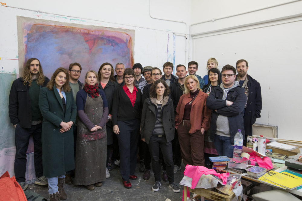 18 of the Artist from the Turps Programme 2018 and selector Phillip Allen