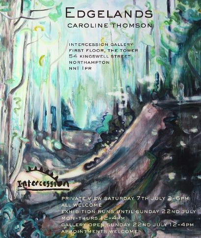 Press release image for Edgelands Exhibition of Caroline Thomson's work