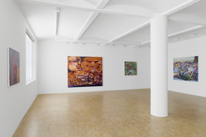 Installation view- Hypnagogia, group exhibition, Pippy Houldsworth Gallery, London (2018) art exhibitions to see in July
