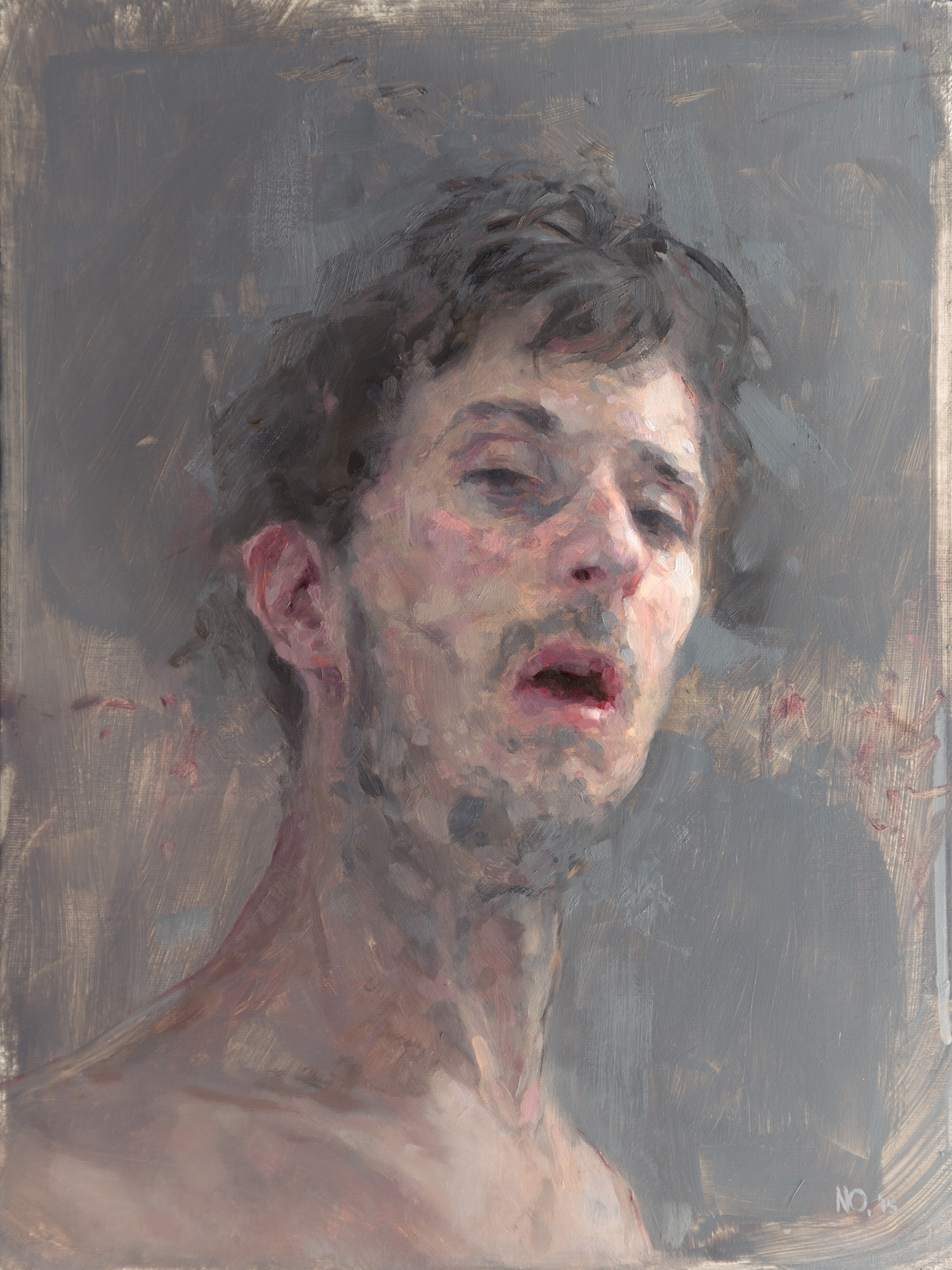 Gunked Up, oil on Canvas, 40 x 30 cm, 2015
