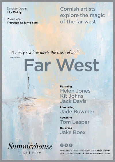 Press release for Far West exhibition