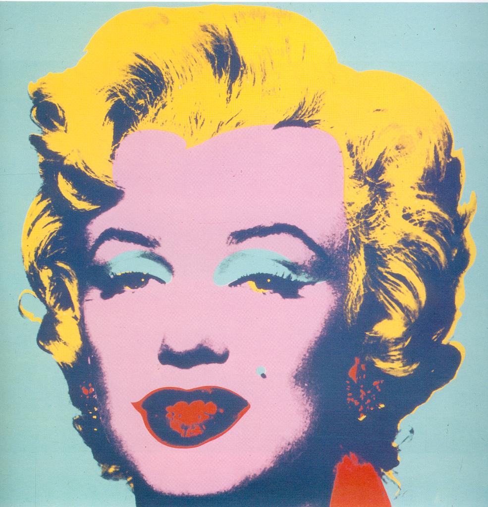 Andy Warhol - Marilyn 1967, screenprint