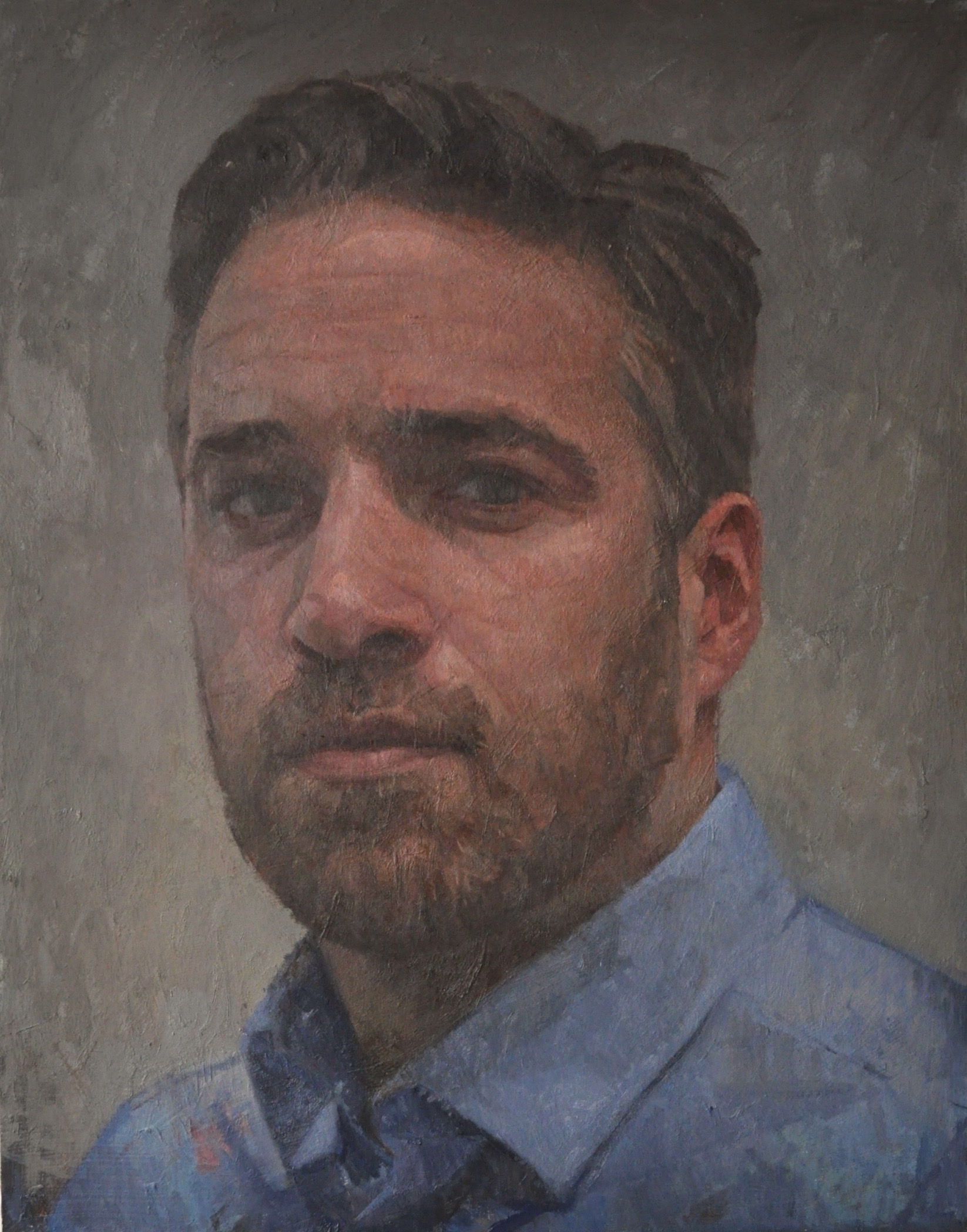 Matthew Gareth Reid Oil on board, 60x45cm, 2017
