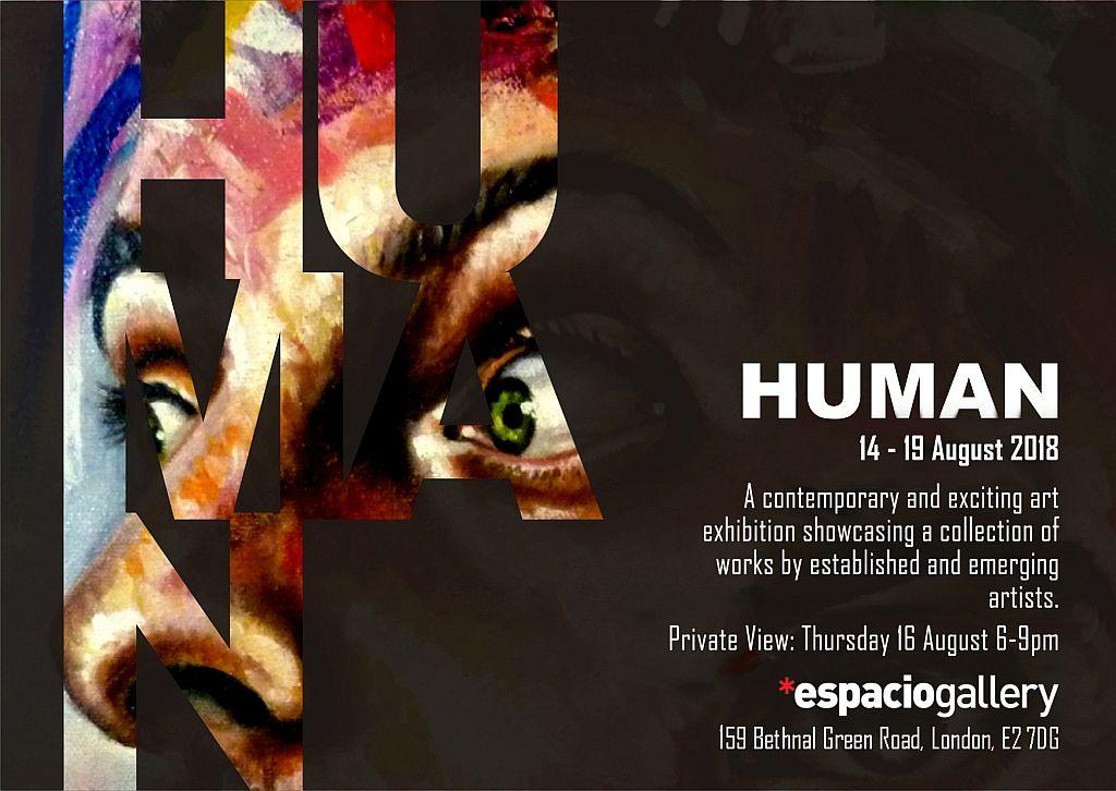 Human, Espacio Gallery, Press Release, art exhibitions in August
