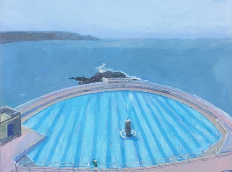 Peter Stiles, The Lido art exhibitions in August