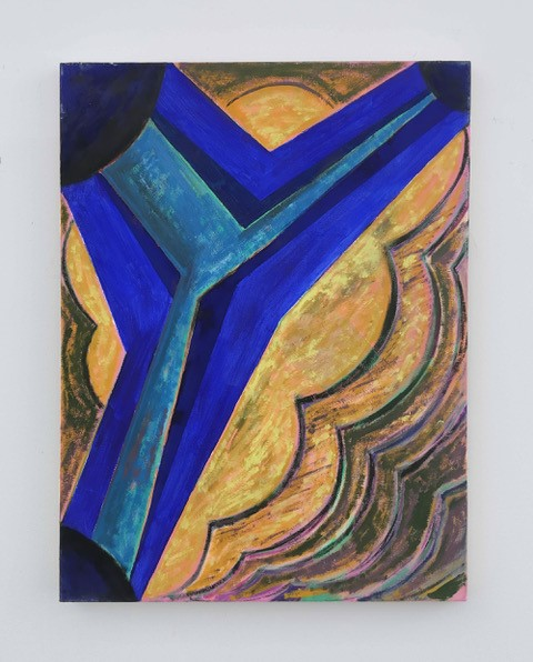 Scott McCracken, Parallel Parker, 2018, oil on canvas, 60x45cm, art exhibitions on in September