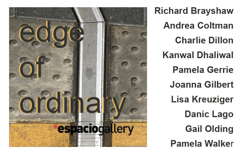 Press release for the edge of ordinary exhibition, art exhibitions on in September