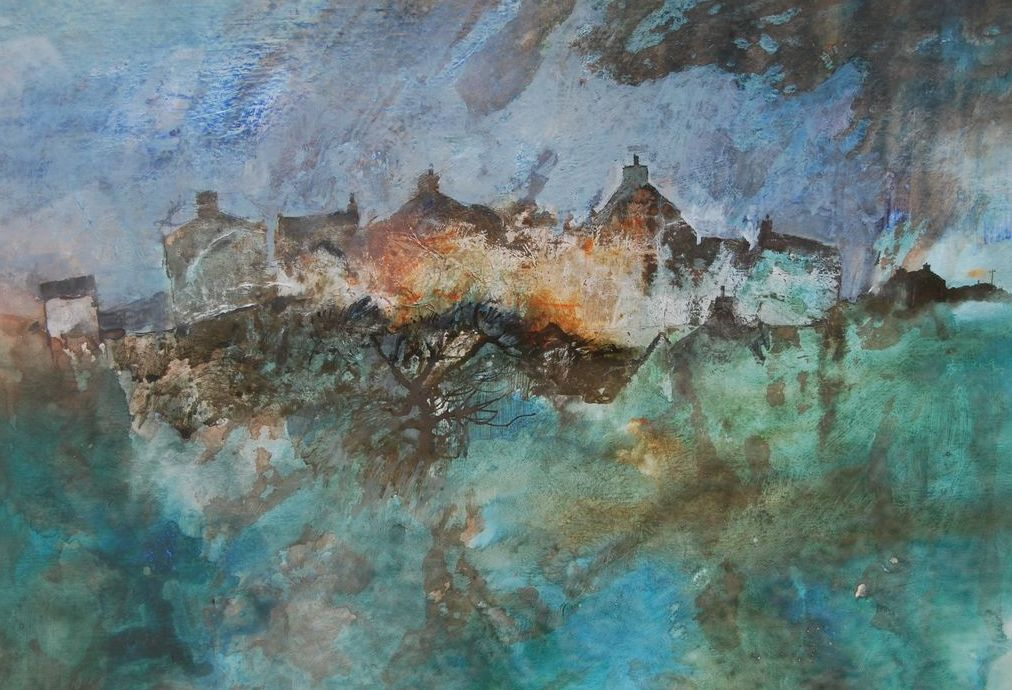 Pembrokeshire Cottages G. John Blockley Mixed media, c1999
