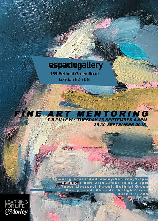 Morley Fine Art Mentoring Press Release