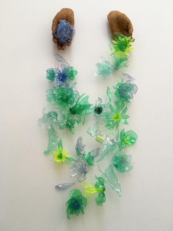 Detritus by Rachel Reid, artists on pollution