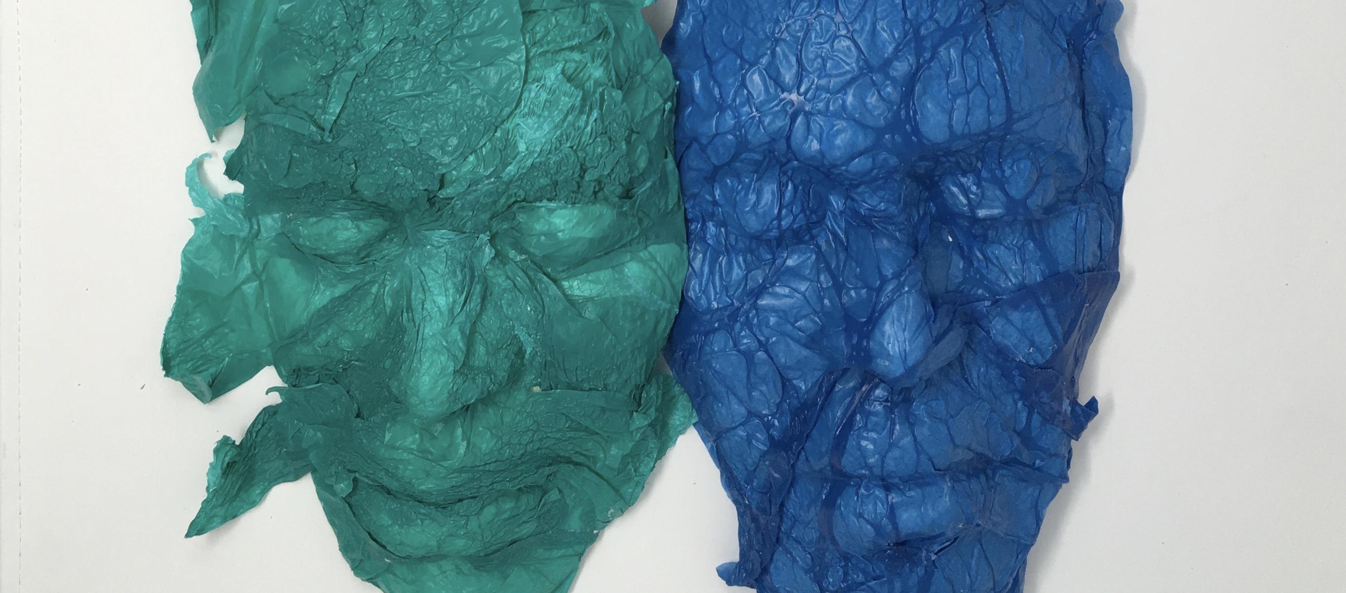Rachel Reid Bag Ladies, artists on pollution