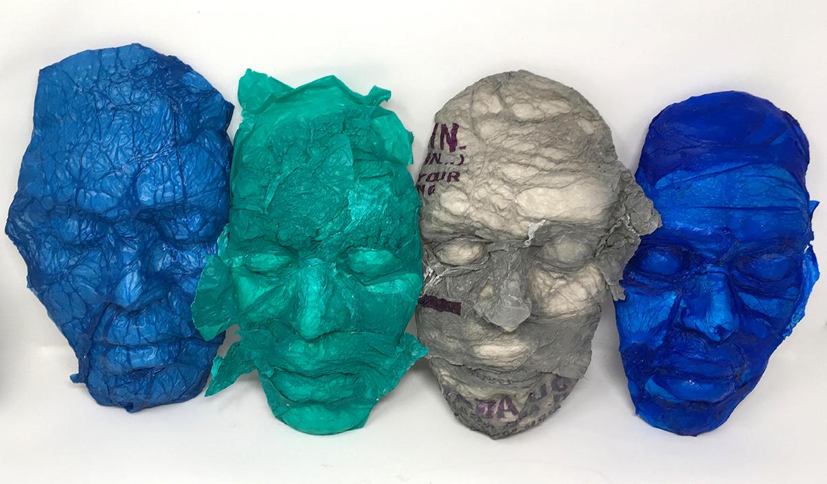 Rachel Reid, Bag Ladies, artists on pollution