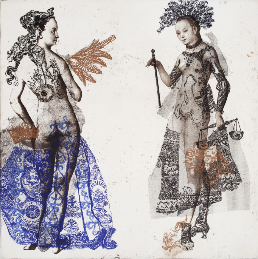 Charlotte Massip, Ladies Blues at National Original Print Exhibition