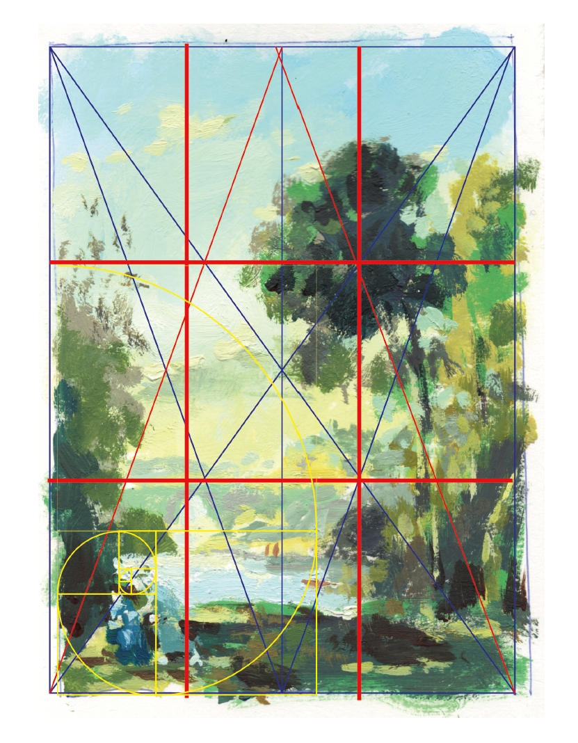 An illustration from a thorough and scientific look at composition in drawing and painting the