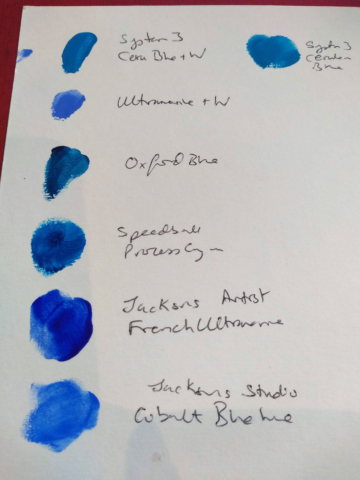 Jackson's Studio Acrylic paint
