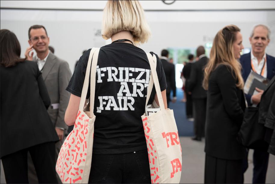 Frieze London 2018 Photo by Linda Nylind. Courtesy of Linda Nylind/Frieze