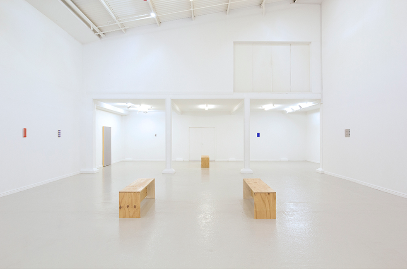 Christopher P. Green, installation view, Thames-Side Studios Gallery, 2018