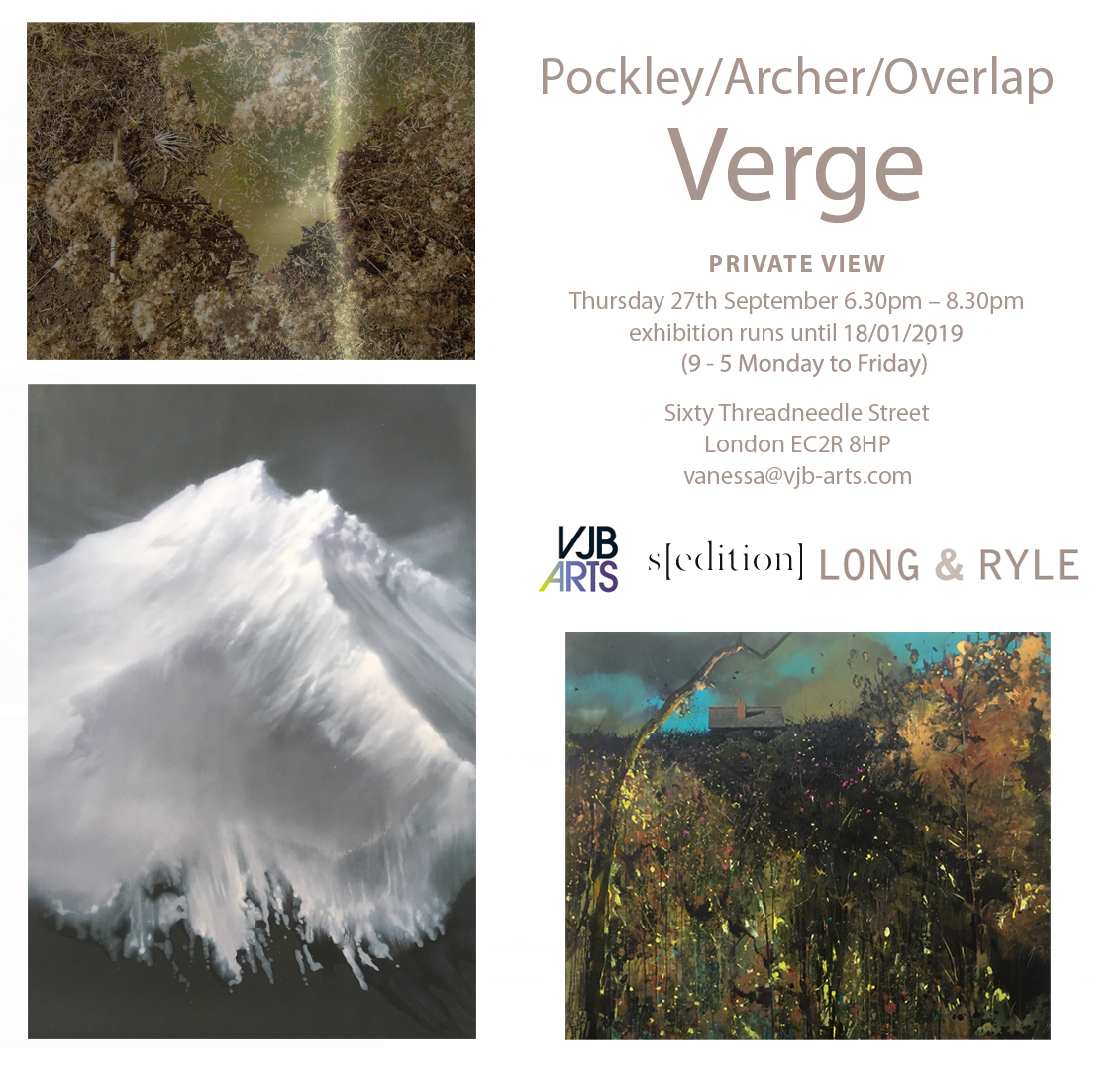 Verge Press Release, art exhibitions on in October