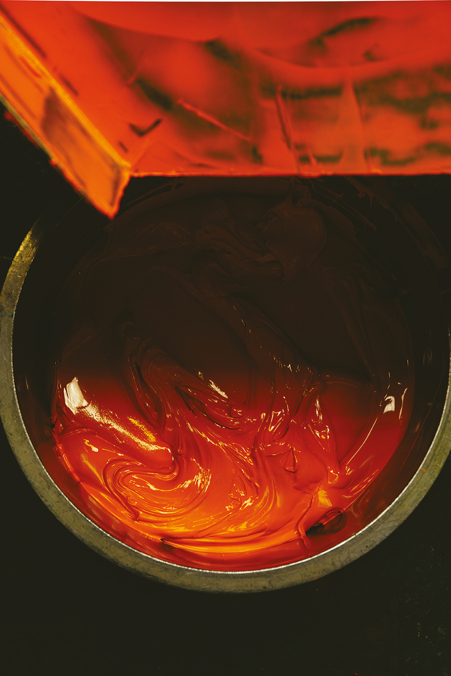 the differences between grades of oil paint