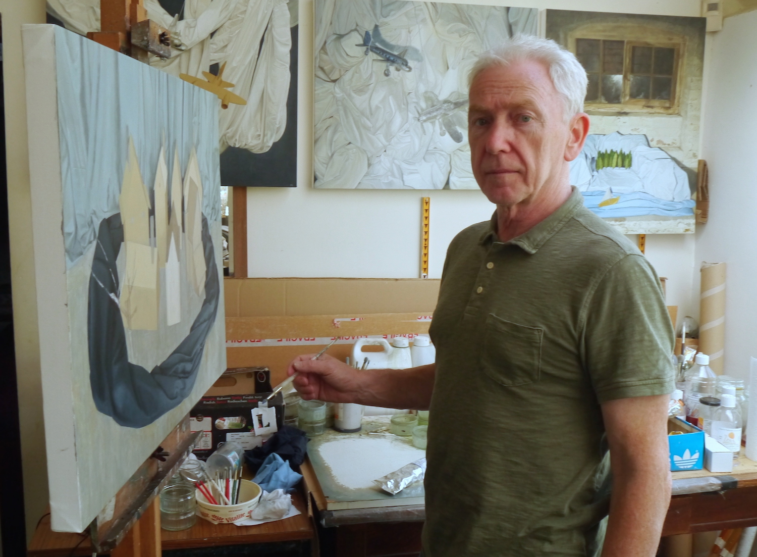 John Whitehill artist Studio Interview
