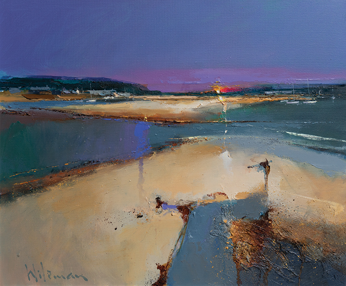 Peter Wileman, When All is Said and Done, Oil on canvas, 20'' x 24''