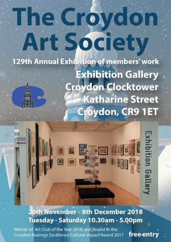 Press Release Croydon Art Society