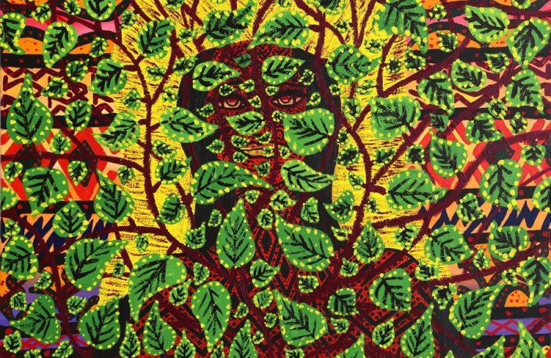 Nixiwaka Yawanawá Spirits Rainforest Amazon Painting