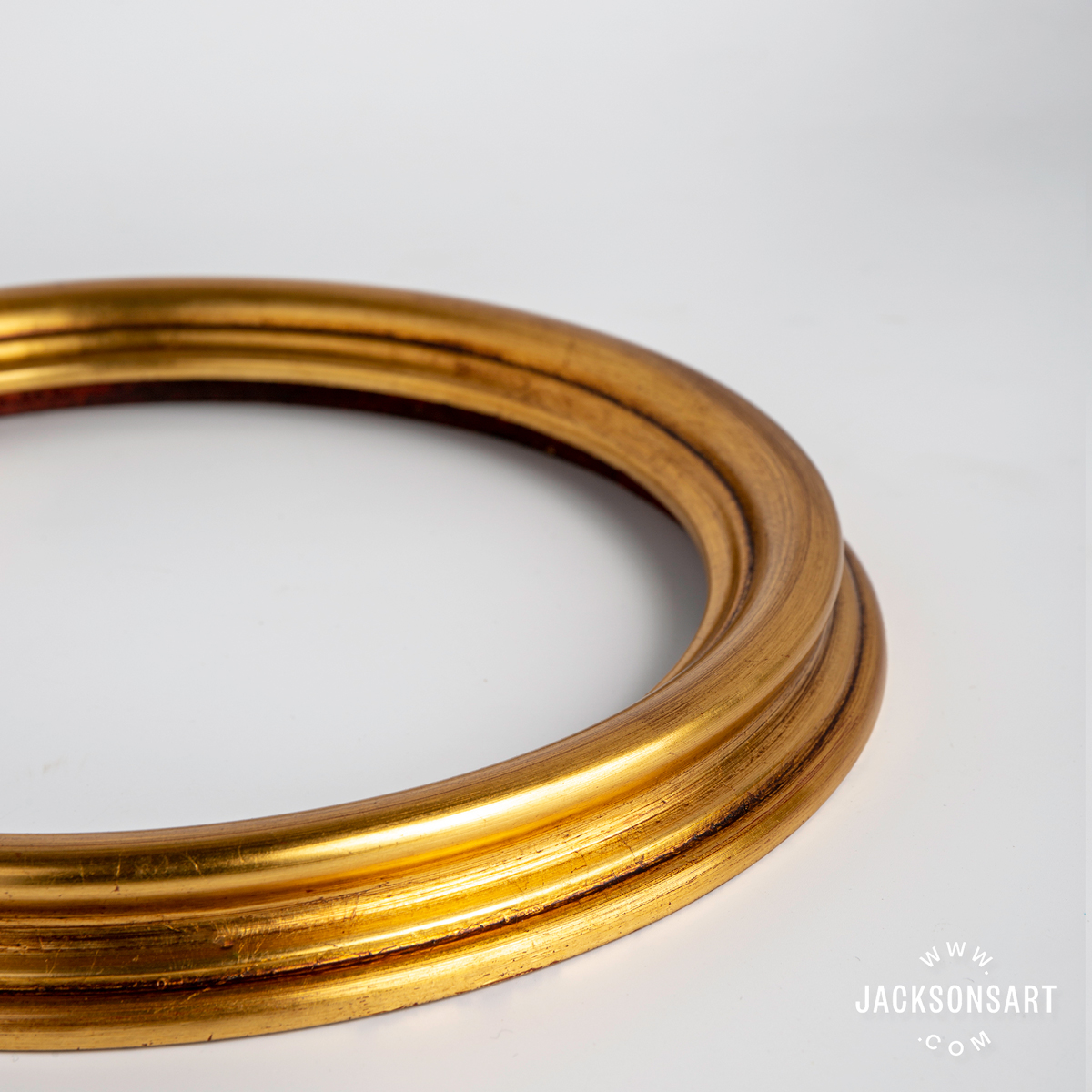 Jackson's Obeche Circular Frame Antique Gold new products