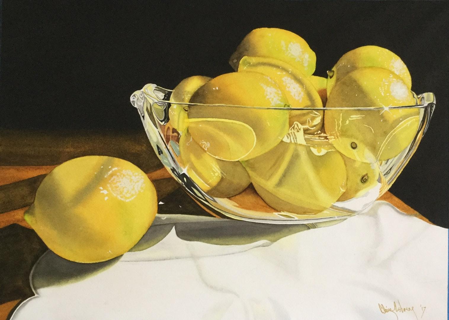 Claire Osborne bowl of sunhsine