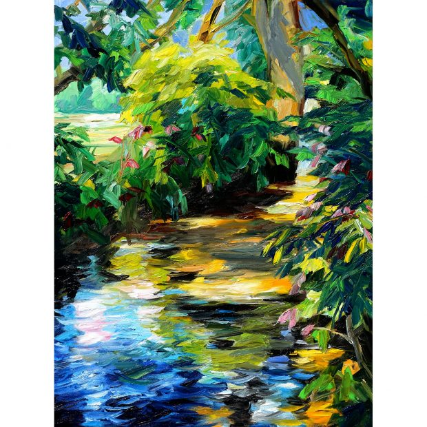 Werner Maier Using Mussini Resin-Oil Colours