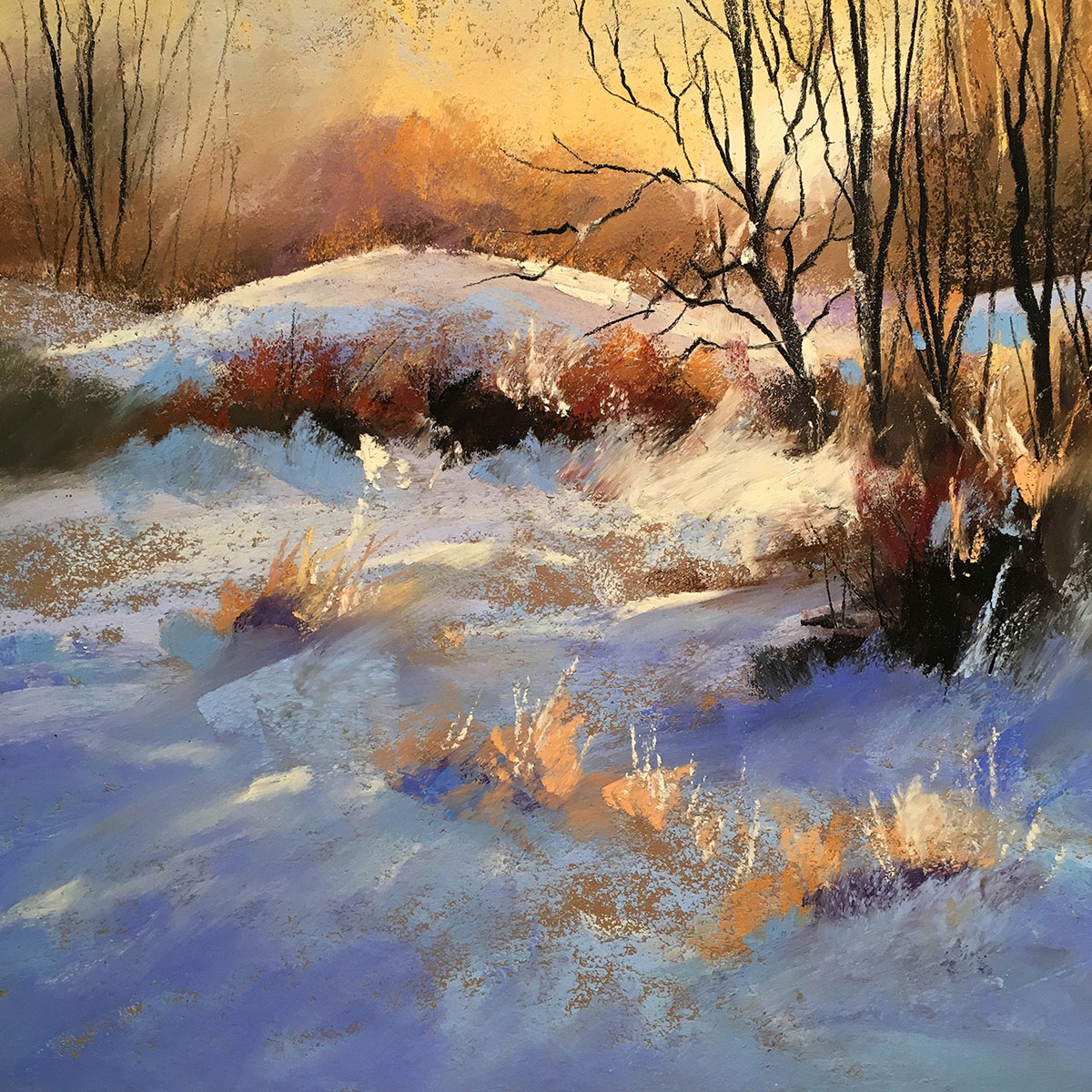 Landscape Painting with Les Darlow and Schmincke Soft ...