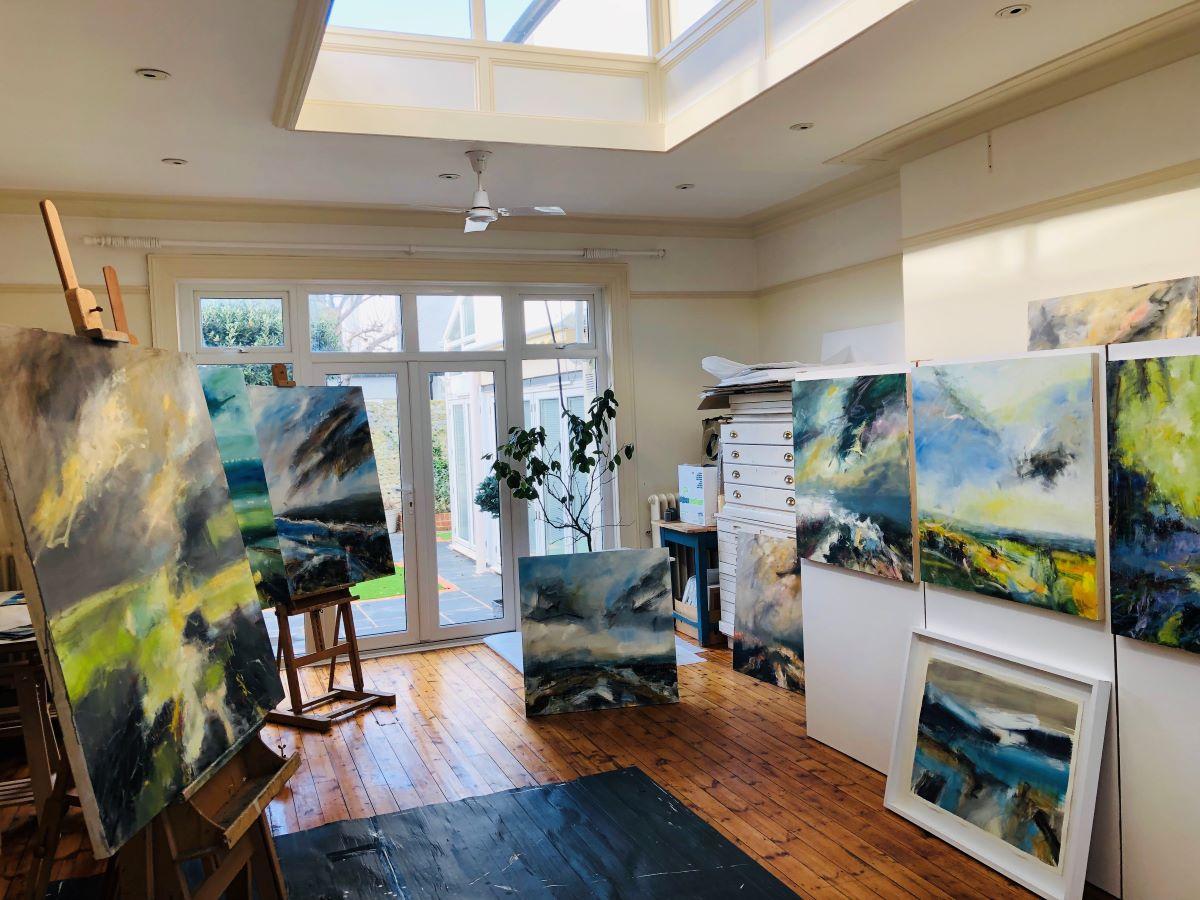 Lucy's Studio.