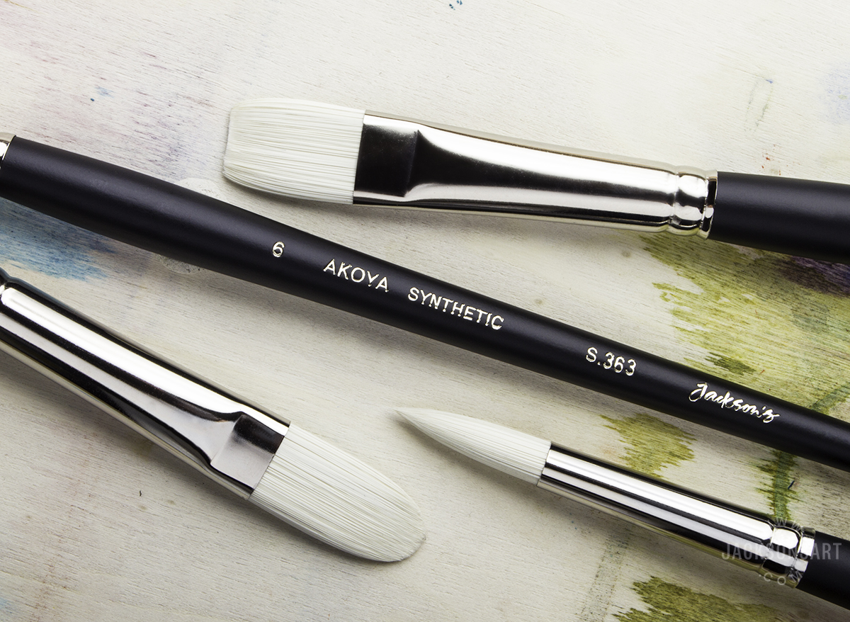 Jackson S Akoya The Best Brushes Going For Oil Water