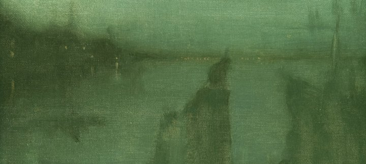James McNeill Whistler, Nocturne, 1875 – 1877 © The Hunterian, University of Glasgow