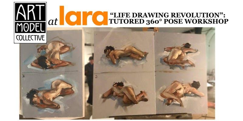 Lara lifedrawing