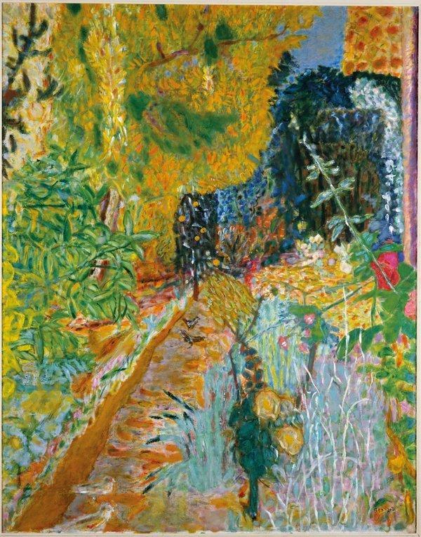 Pierre Bonnard Le Jardin 1936 Musée d'Art moderne de la Ville de Paris (Paris, France)