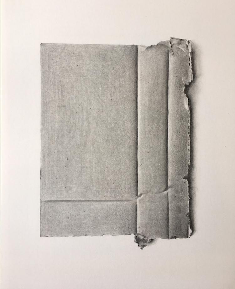 R Herron, Cardboard, 45 x 33 cm