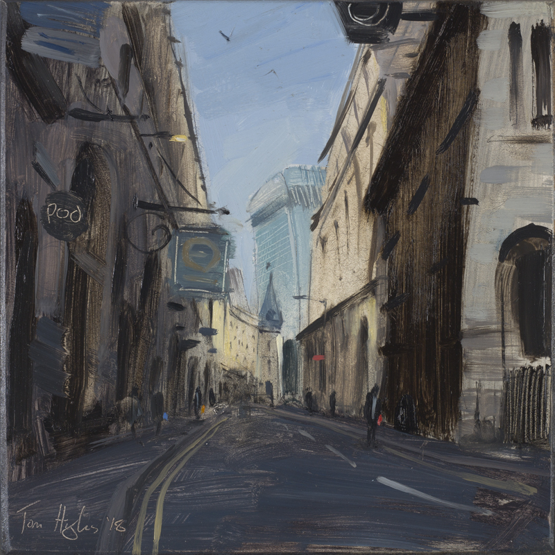 Sunlit-street-near-London-Bridge-September