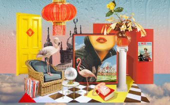 Kerry Ann Lee - Collage No romance without the rain