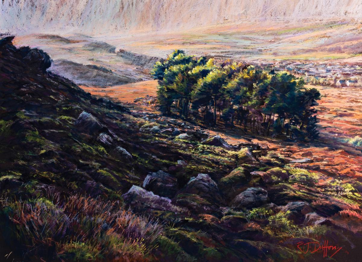 moorland pastels