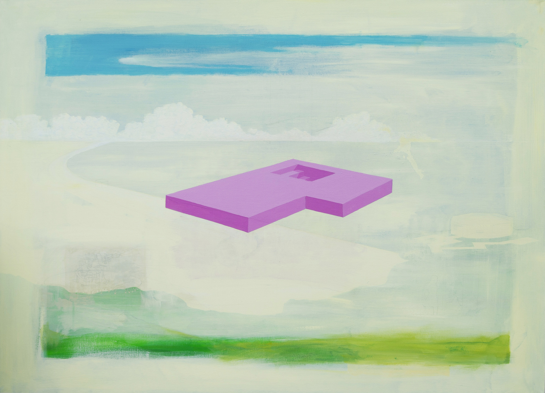 Gary Scholes Component Jackson's Open Painting Prize Commeneded Entry of the Week