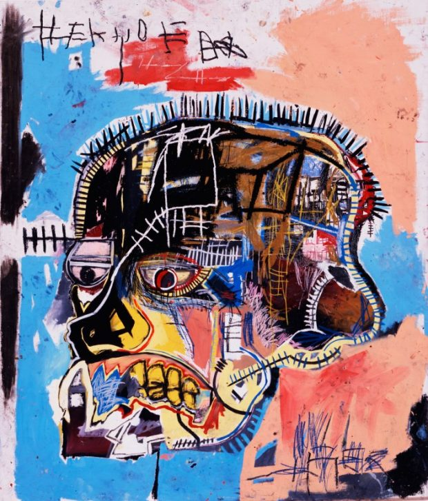 Jean-Michel Basquiat Untitled, 1981 - Acrylic and Mixed Media on canvas - 205.7 × 175.9 cm