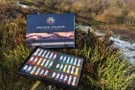 Moorland Pastels set on location by Robert-Dutton