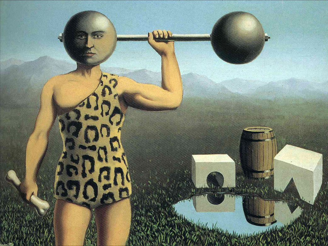 Rene Margritte - Perpetual Motion