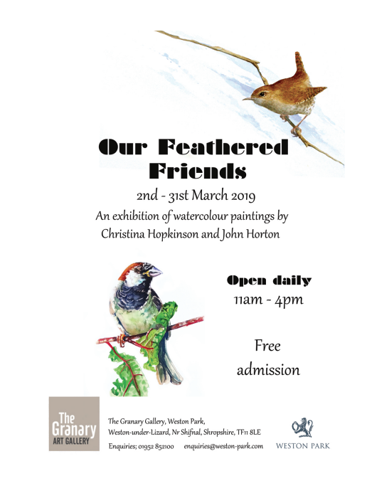 press release feathered friends bird artists